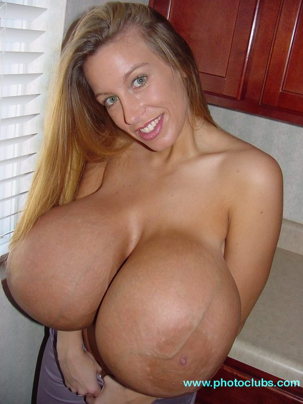 Bigest tits in world nude